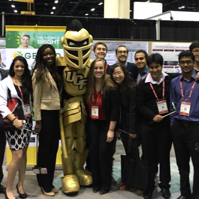 Knightro And Students
