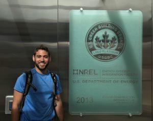 Matt at NREL