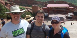 FEEDER faculty & students at Red Rocks Amphitheatre
